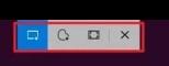 snip and sketch toolbar ribbon