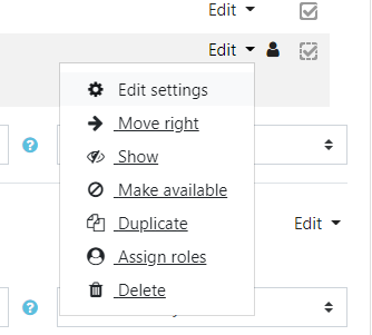select duplicate from the dropdown menu
